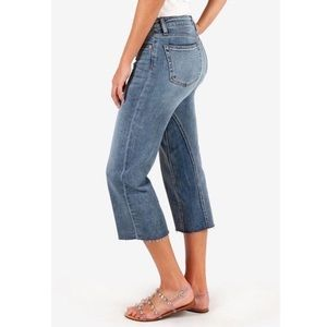 Kut from the Kloth Charlotte Crop Culotte Jeans